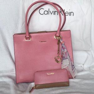 Calvin Klein bag with wallet